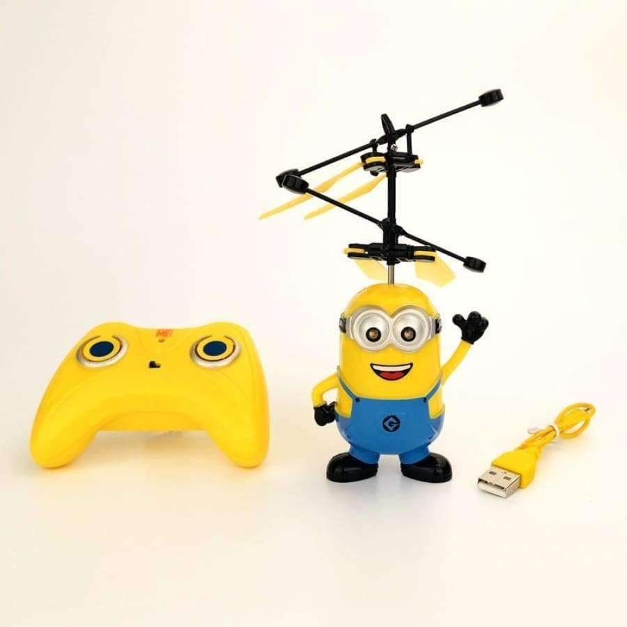 Official Authorized Minions Mini Drone - Remote Control - Infrared Induction SHAPE meets COLOR