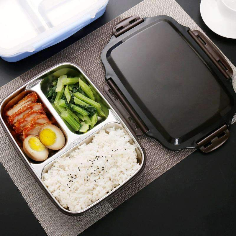ONEUP Portable Stainless Steel Lunch Box SHAPE meets COLOR