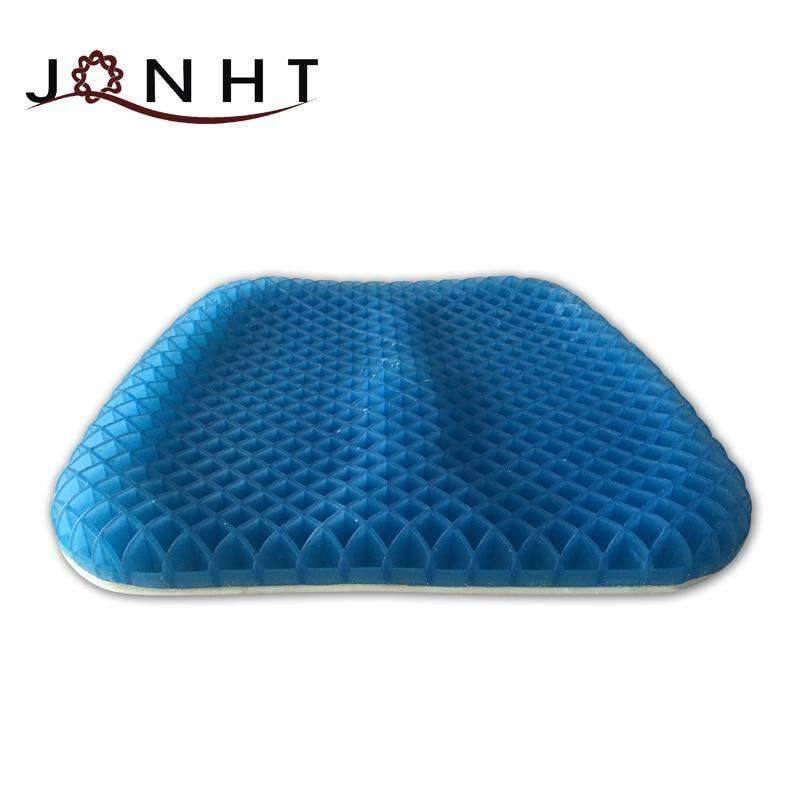 Orthopedic Gel Cushion for Coccyx Pain Comfort SHAPE meets COLOR
