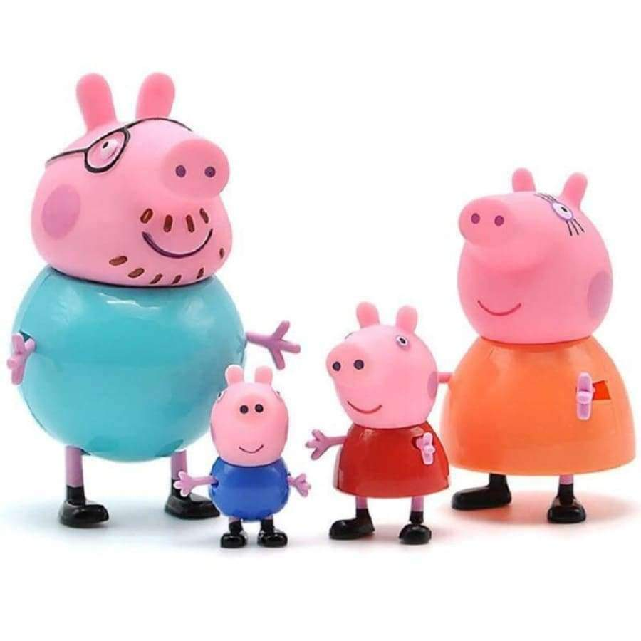 Peppa pig George Guinea Pig Family Pack SHAPE meets COLOR