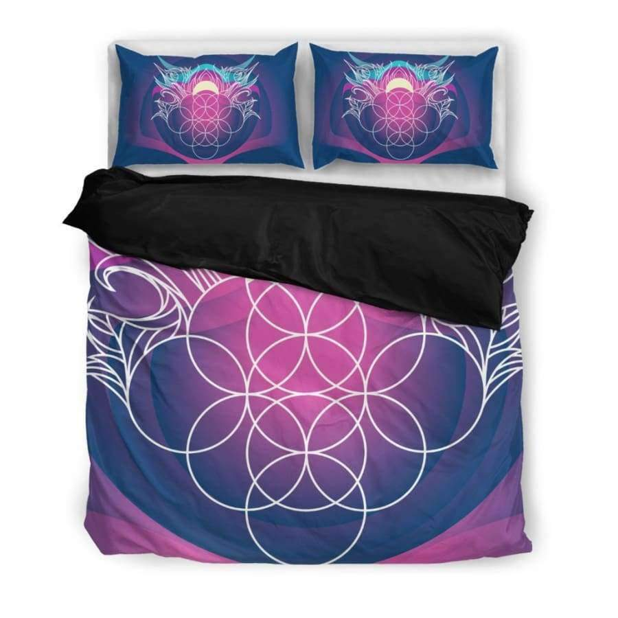 Sacred Funky Bedding Set Bedding Set SHAPE meets COLOR