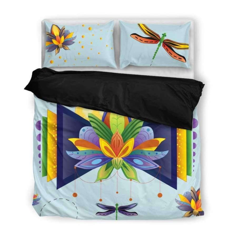 Spiritual Lotus Bedding Set Bedding Set SHAPE meets COLOR