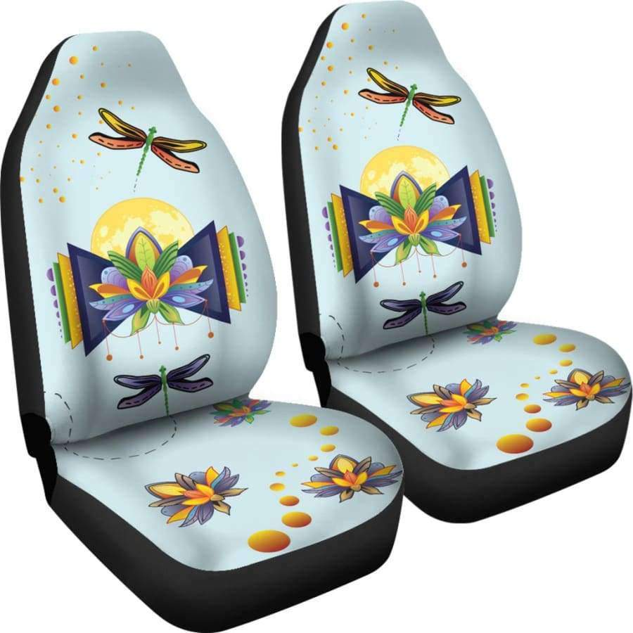 Spiritual Lotus Car Seat Covers Car Seat Covers SHAPE meets COLOR