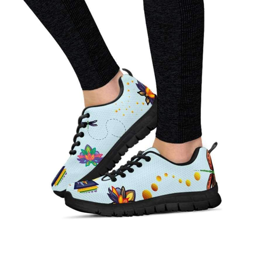 Spiritual Lotus Women's Sneakers Sneakers SHAPE meets COLOR