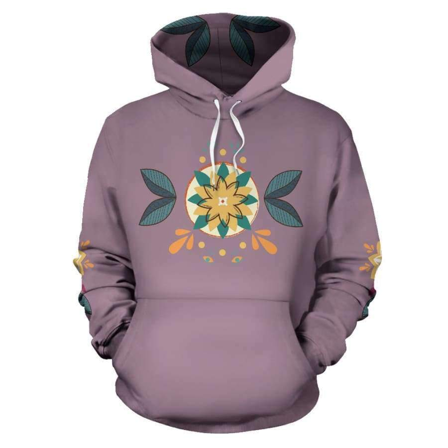 Sunshine Boom All Over Hoodie (Women, Men, Youth) Hoodies SHAPE meets COLOR