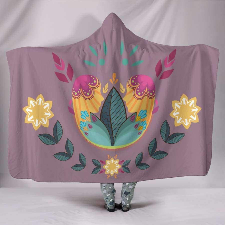 Sunshine Boom Hooded Blanket Hooded Blanket SHAPE meets COLOR