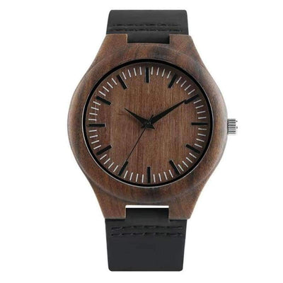 YISUYA Wooden Bamboo Men's Watch SHAPE meets COLOR B