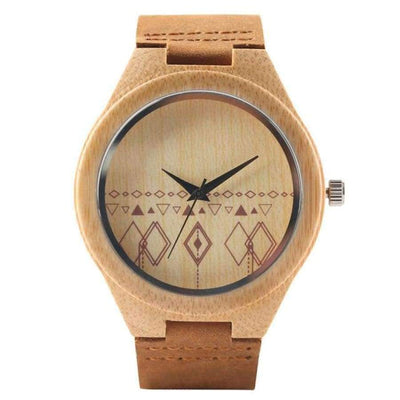 YISUYA Wooden Bamboo Men's Watch SHAPE meets COLOR C