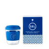 St. Dreux Reusable Glass Cup - Blue