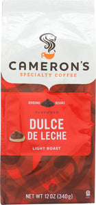 CAMERONS COFFEE: Dulce De Leche Coffee Ground, 12 oz