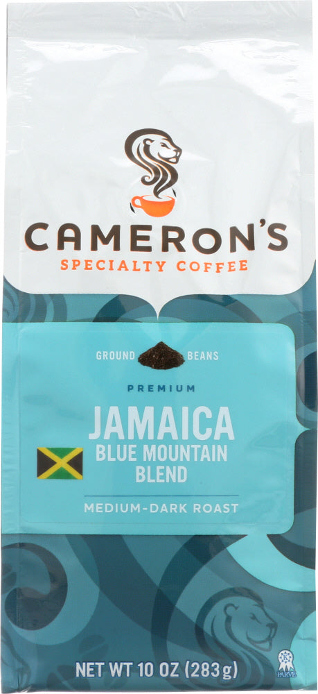 CAMERONS COFFEE: Jamaica Blue Mountain Coffee Ground, 10 oz
