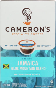 CAMERONS COFFEE: Jamaica Blue Mountain Coffee Ss, 4.33 oz