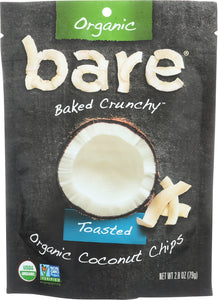 BARE: Organic Toasted Coconut Chips 2.8 Oz