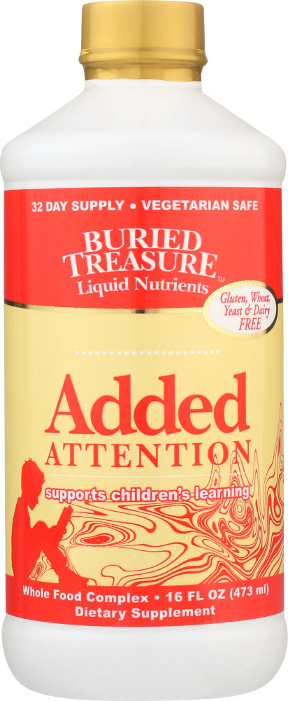 BURIED TREASURE: Added Attention for Children, 16 oz