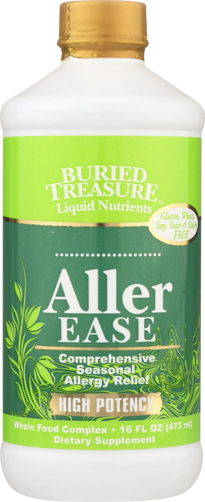 BURIED TREASURE:  Aller Ease Allergy Relief Formula, 16 oz