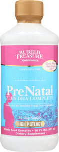 BURIED TREASURE: Prenatal Plus DHA Complete, 16 oz
