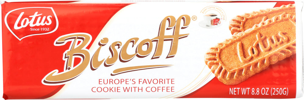 BISCOFF: Lotus Cookies, 8.8 oz
