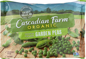 CASCADIAN FARMS: Garden Peas, 16 oz