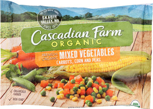 CASCADIAN FARMS: Mixed Vegetables, 16 oz