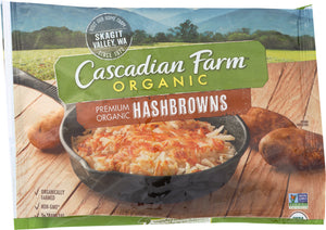 CASCADIAN FARMS: Hashbrowns Potato, 16 oz