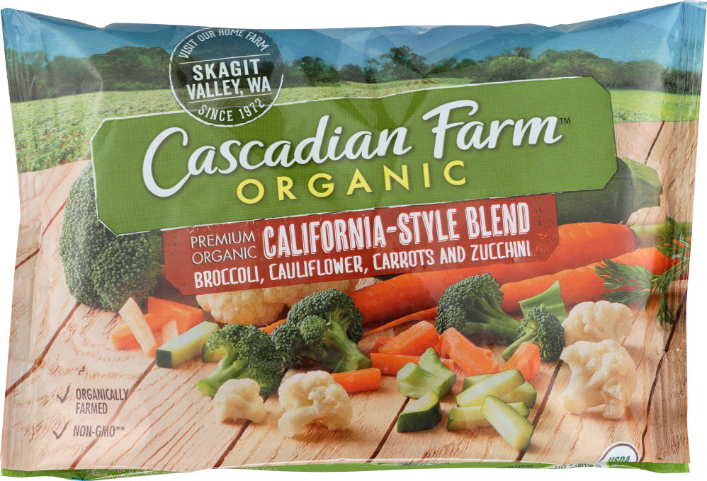 CASCADIAN FARMS: California-Style Blend, 10 oz