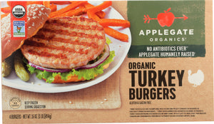 APPLEGATE FARMS: Organic Turkey Burgers, 16 oz