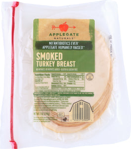 APPLEGATE: Naturals Smoked Turkey Breast, 7 oz