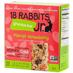 18 RABBITS: Organic Gluten Free Granola Bar Strawberry + Mango and Chia, 6 Bars