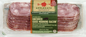 APPLEGATE NATURALS: Uncured Good Morning Bacon, 8 oz