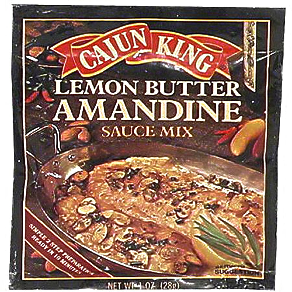 CAJUN KING: Lemon Butter Amandine Sauce Mix, 1 oz