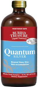 BURIED TREASURE: Quantum Silver Liquid, 16 oz