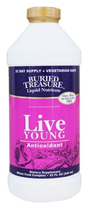 BURIED TREASURE: Antioxidant Live Young, 32 oz