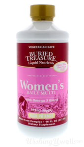 BURIED TREASURE: Multivitamin Womens Daily, 16 oz