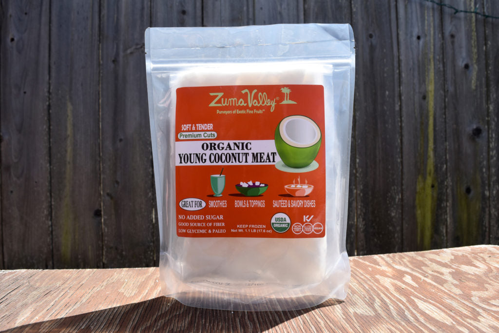ZUMA VALLEY: Young Coconut Meat, 1.1 lb
