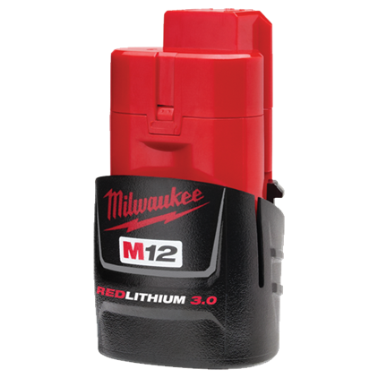 Milwaukee batteri 12V 3,0 Ah