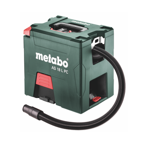METABO 18V støvsuger AS 18 L PC med manuel filter rensning SOLO