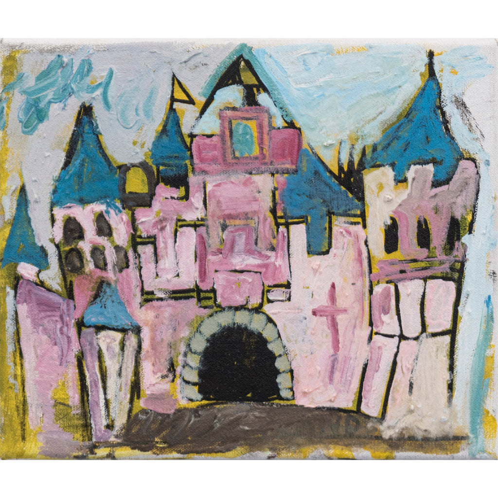The Castle Painting