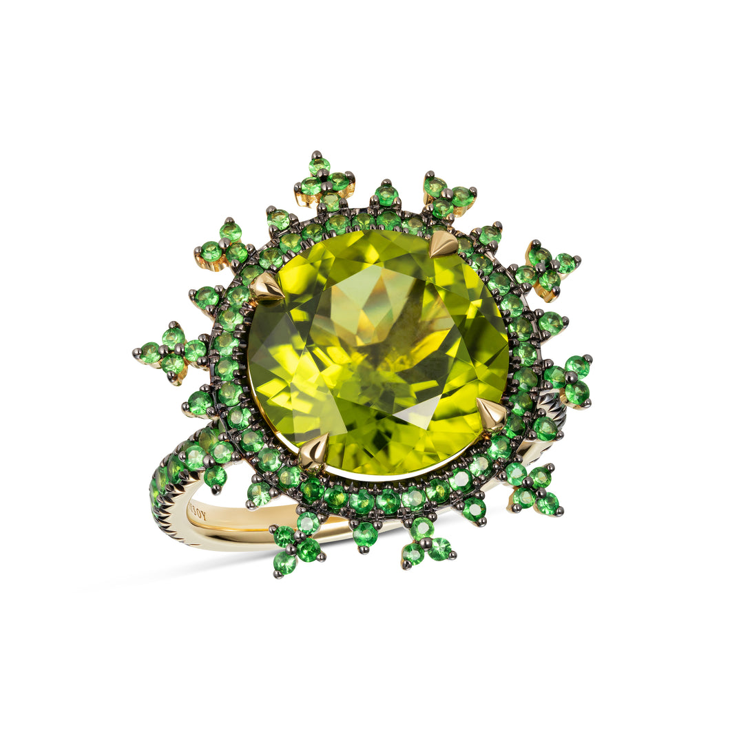 Tsarina Apple Flake Ring