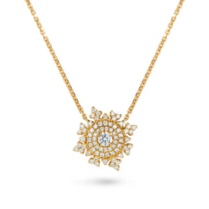 Petite Tsarina Yellow Necklace