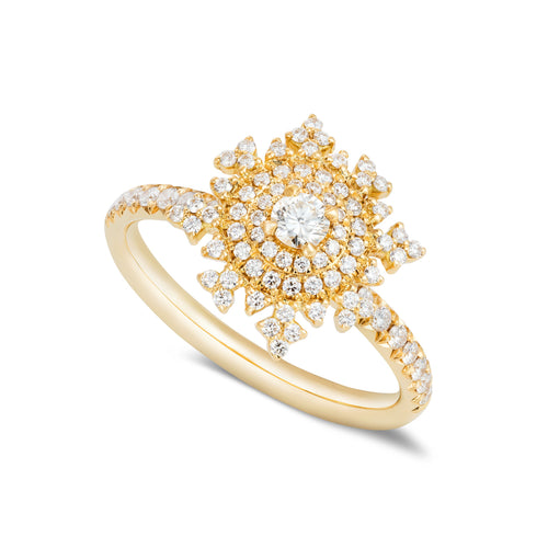 Petite Tsarina Yellow Ring