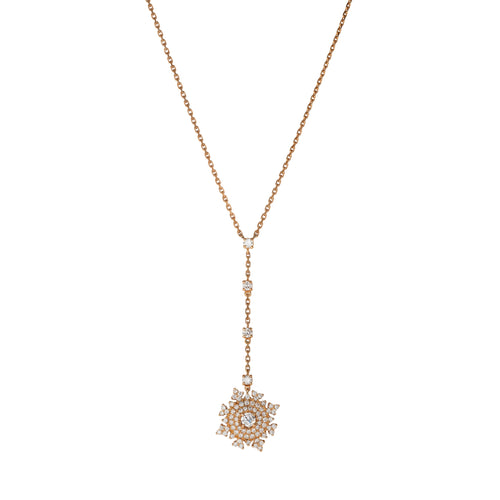 Petite Tsarina Rose Long Necklace
