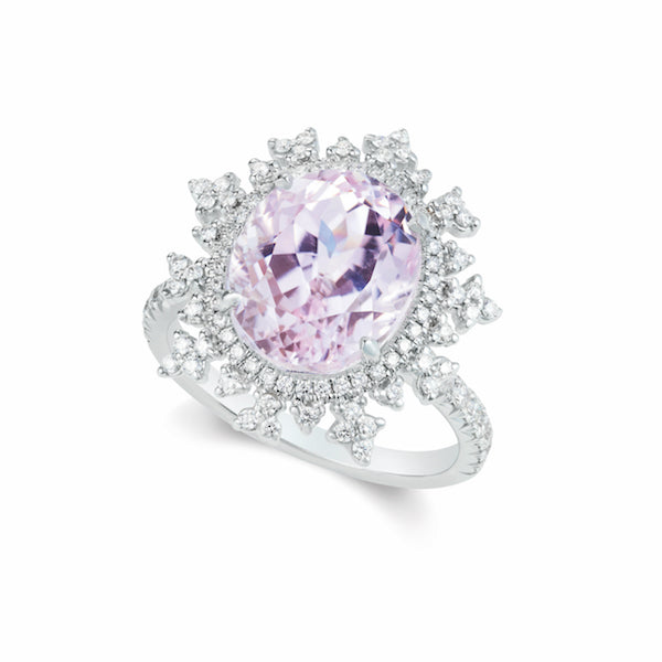 Tsarina Morganite Ring
