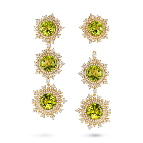 Tsarina Spring Flake Earrings