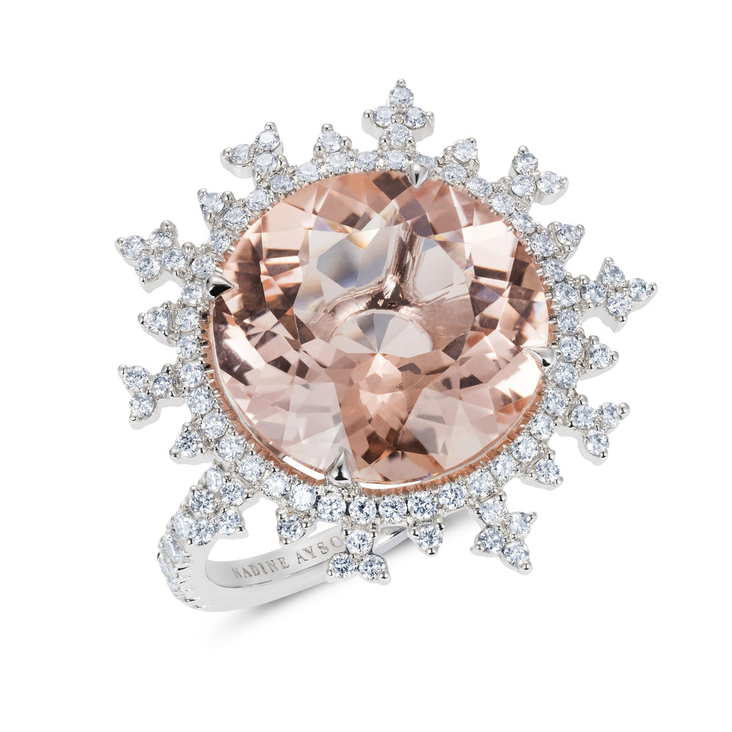 Tsarina Rose Flake Ring