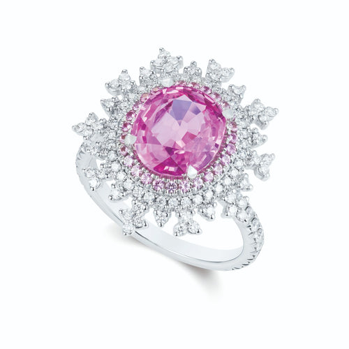 Tsarina Berry Flake Ring