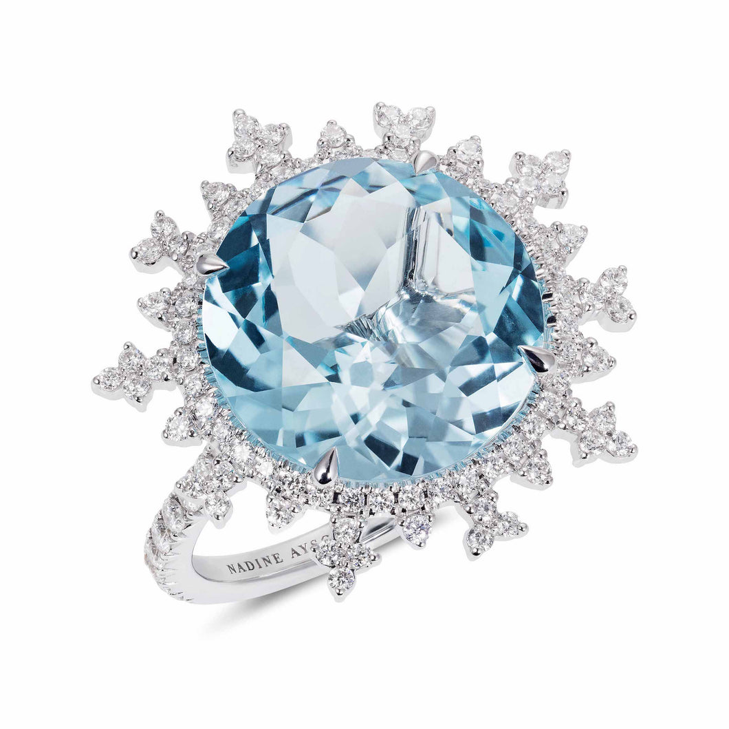 Tsarina Ice Flake Ring