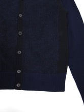 Load image into Gallery viewer, Acne Studios Navy Track C AW'13 Cardigan Small