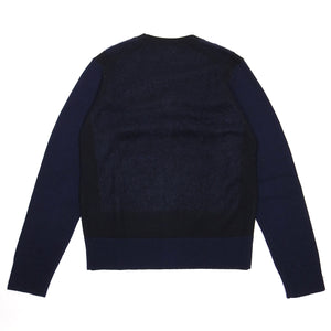 Acne Studios Navy Track C AW'13 Cardigan Small