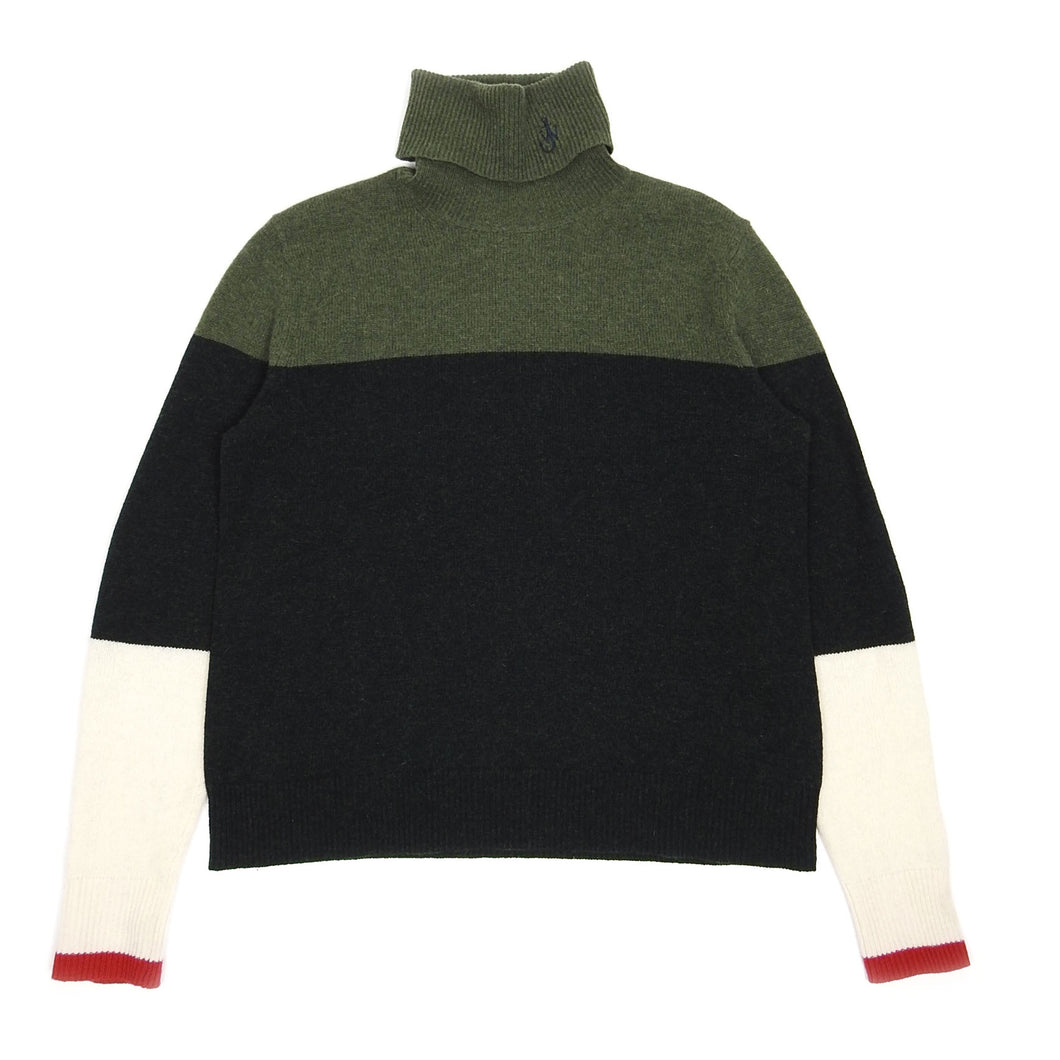 JW Anderson Forest Green Wool Turtle Neck Medium