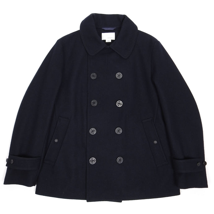 Nanamica Navy Wool Peacoat Large
